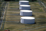 Oil Tanks, NJ Photographic Print