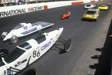 Solar and Electric 500 Car Races, AZ Photographic Print
