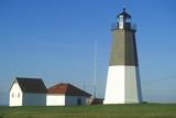 Point Judith Lighthouse at Narragansett, Rhode Island Fotodruck