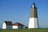 Point Judith Lighthouse at Narragansett, Rhode Island Photographic Print