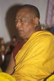 Tibetan Monks Chanting Performance at Agape Church in Santa Monica California Photographic Print