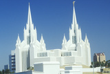Mormon Temple in Northern San Diego California Photographic Print