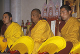Tibetan Monks Chanting Performance at Agape Church in Santa Monica California Photographic Print