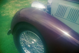 A Purple Bugatti at the 35th Annual Concours D' Elegance Competition in CArmel, CA Photographic Print