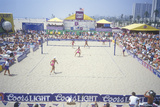 Women's Professional Sand Volleyball Tournament, Venice Beach, California Photographic Print