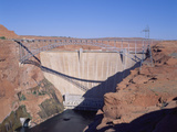Glen Canyon Dam, Page, Arizona Photographic Print