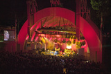 Sting Performing at the Newly Renovated Hollywood Bowl, Hollywood, California Photographic Print