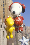 Snoopy and Woodstock Balloons in Macy's Thanksgiving Day Parade, New York City, New York Photographic Print