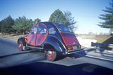 An Old Model Citroen on the Road Photographic Print