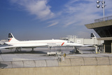 British Airways Supersonic Concorde Jet at Kennedy Airport, New York Photographic Print