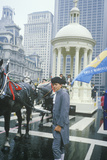 Float in American Bicentennial Parade, Philadelphia, Pennsylvania Photographic Print