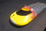 Solar Powered Car at the Solar and Electric 500, AZ Photographic Print