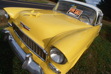 Yellow 1956 Chevrolet for Sale Photographic Print
