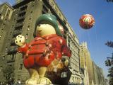 Cartoon Bear Balloon in Macy's Thanksgiving Day Parade, New York City, New York Photographic Print