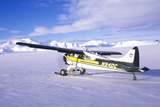 A Piper Bush Airplane in the Wrangell St. Elias National Park and Preserve, Alaska Photographic Print
