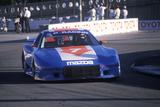 A Blue Mazda Trans Am in the Toyota Grand Prix CAr Race in Long Beach, CA Photographic Print