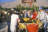 The Gordon Bennett Helium Balloon Race in Palm Springs, California Photographic Print