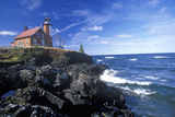 Eagle Harbor Lighthouse on the Upper Peninsula, MI Photographic Print