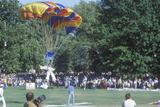 Parachutist Landing in St. Louis, Missouri Park Photographic Print
