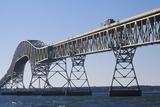 The Bridge over Chesapeake Bay, Lucius J. Kellam, Jr. Bridge-Tunnel, Virginia Photographic Print