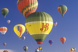 Balloons Take to the Air at the Albuquerque International Balloon Fiesta in New Mexico Photographic Print