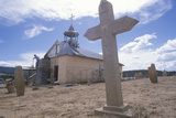 Mission in San Ysidro New Mexico Photographic Print