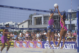 Coors Light Women's Professional Volleyball, Final Doubles, Venice, CA Impressão fotográfica