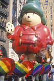 Cartoon Bear Balloon in Macy's Thanksgiving Day Parade, New York City, New York Photographic Print