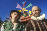 Two Actors at the Renaissance Faire, Agoura, California Photographic Print