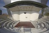 Outdoor Stage at Disney Concert Hall in Downtown Los Angeles, California Photographic Print