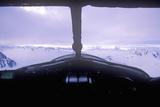 A Piper Bush Airplane in the Saint Elias National Park, Alaska Photographic Print