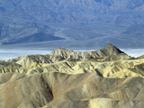 Death Valley National Monument, Zabriskie Point, California Photographic Print