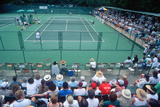Spectators at the Annual Ojai Amateur Tennis Tournament, Ojai, California Photographic Print
