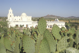 The Mission San Xavier Del Bac Was Erected Between 1783 and 1897 in Tucson Arizona Photographic Print