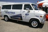 Electricity Powered Van at the Solar and Electric 500, AZ Photographic Print