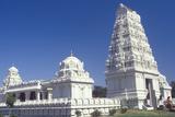 Sri Venkateshwara Temple in Malibu California Reprodukcja zdjęcia