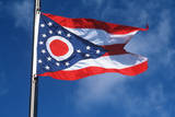 State Flag of Ohio Photographic Print