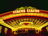 Circus Circus Entrance, Las Vegas, Nevada Photographic Print