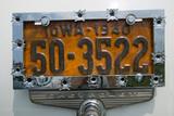 Vanity License Plate - Iowa Photographic Print