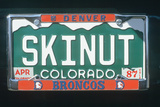 Vanity License Plate - Colorado Photographic Print