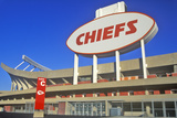 Arrowhead Stadium, Home of the Kansas City Chiefs , Kansas City, MO Fotografisk trykk