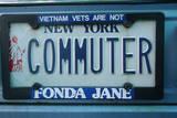 Vanity License Plate - New York Photographic Print