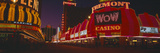 Neon Lights at Las Vegas, Nevada Photographic Print