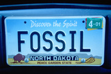 Vanity License Plate - North Dakota - Fotografik Baskı