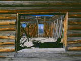 Alta Ghost Town and Mountains, San Juan National Forest, Colorado Photographic Print