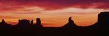 Sunrise, Monument Valley, Arizona Photographic Print