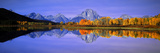 Grand Tetons and Reflection in Grand Teton National Park, Wyoming Photographic Print