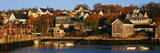 This Is a Lobster Fishing Village and Harbor Photographic Print