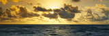 Sunrise on the Pacific Ocean at Hawaii Photographic Print