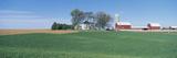 Rolling Farm Fields, Great River Road, Balltown, N.E. Iowa Photographic Print